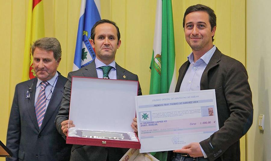 El Dr. Ventura recibe el Premio Fray Thomas Narváez a la Mejor Tesis Doctoral