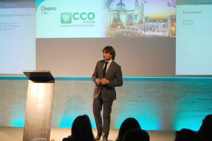 Adrián Carbajosa en Dentsply Madrid