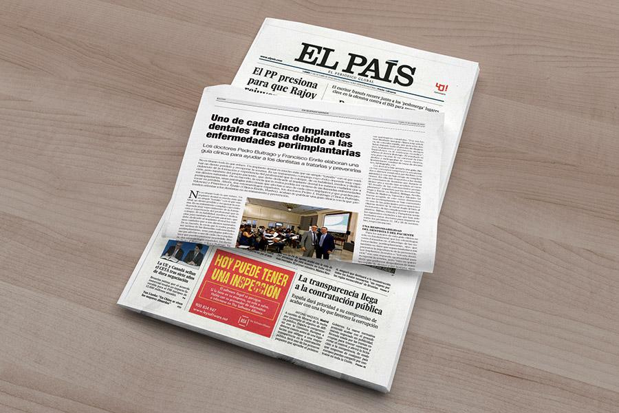 'El País' dedica una página a la guía clínica de los doctores Enrile y Buitrago