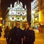 Los doctores Pedro Buitrago y Francisco Enrile