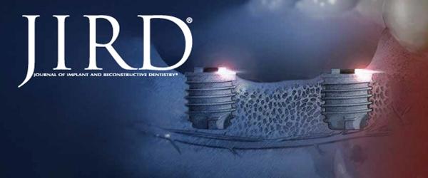 La revista JIRD publica un caso de implantes del Dr. Enrile en un maxilar con poco hueso