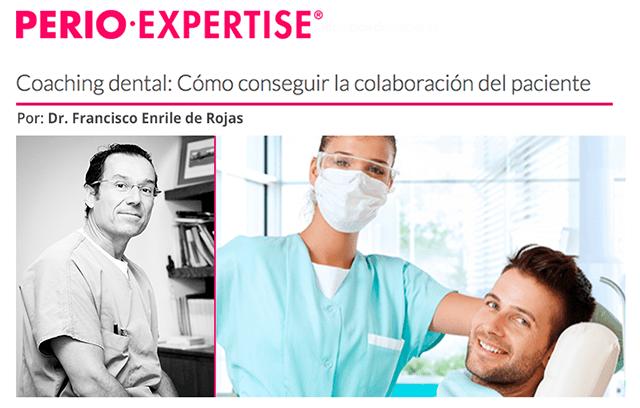 PerioExpertise publica un artículo del Dr. Enrile sobre coaching dental