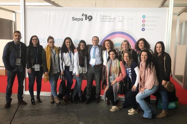 Parte del equipo de Clínica Enrile en SEPA 2018