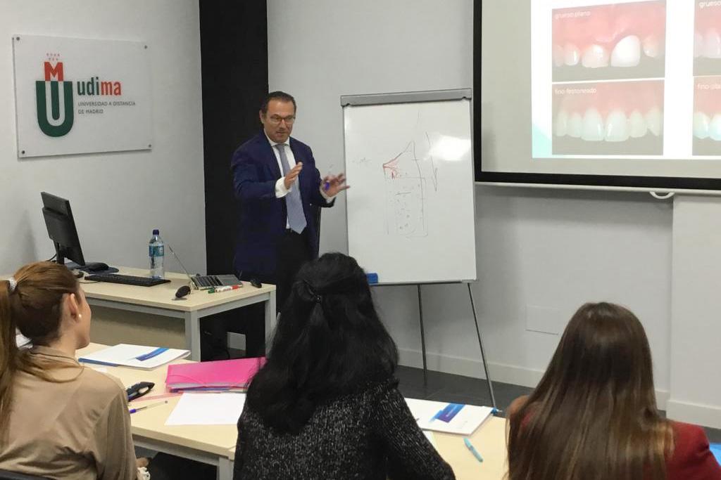 El Dr. Francisco Enrile en UDIMA-IPAO