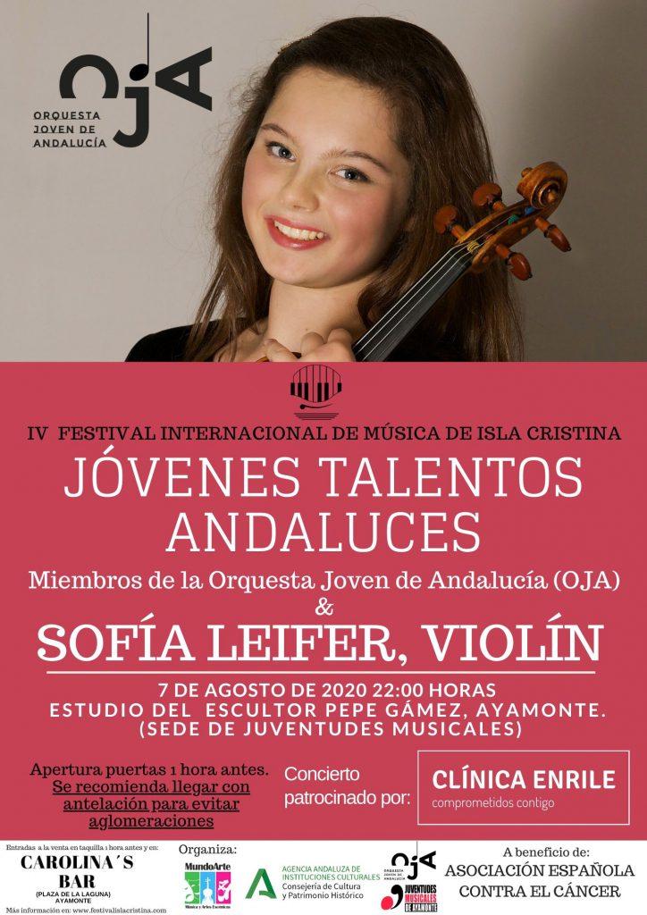 Cartel concierto 'Jóvenes Talentos'